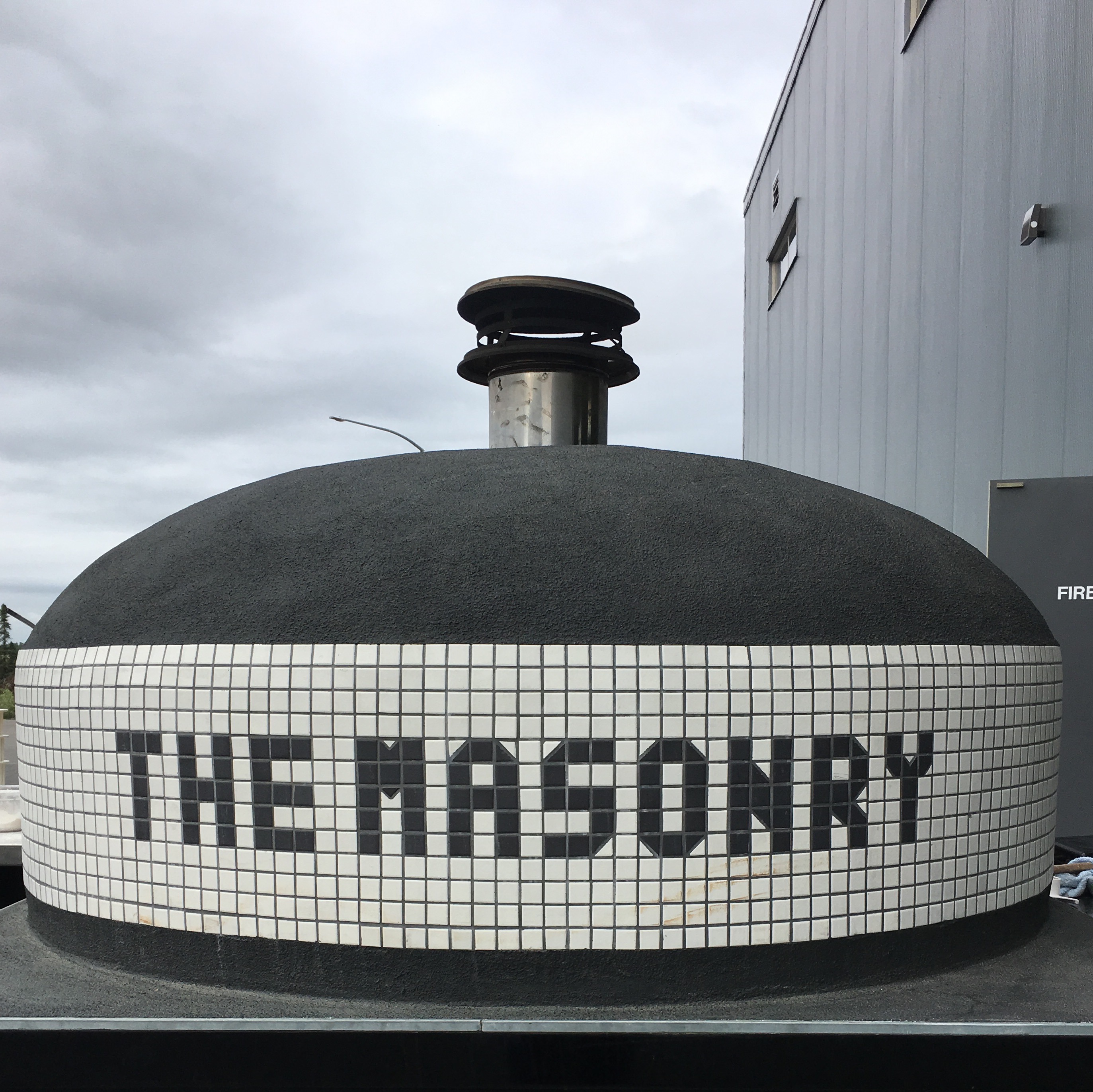 The Masonry from Seattle brought up its pizza oven for The Culmination Festival at Anchorage Brewing.