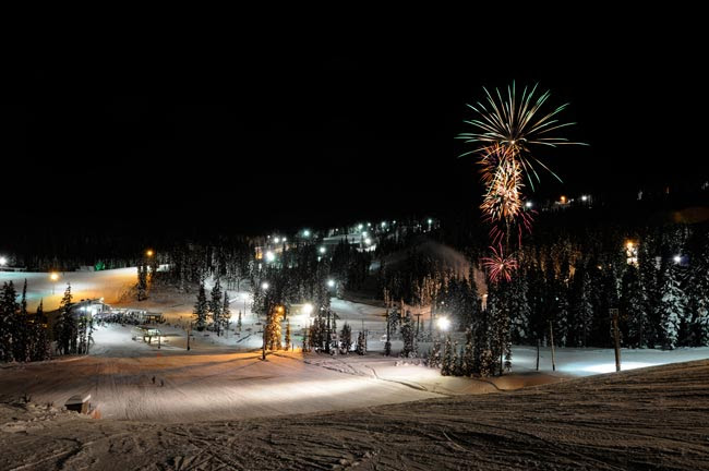 image of New Year's Eve courtesy of Mt. Hood Meadows