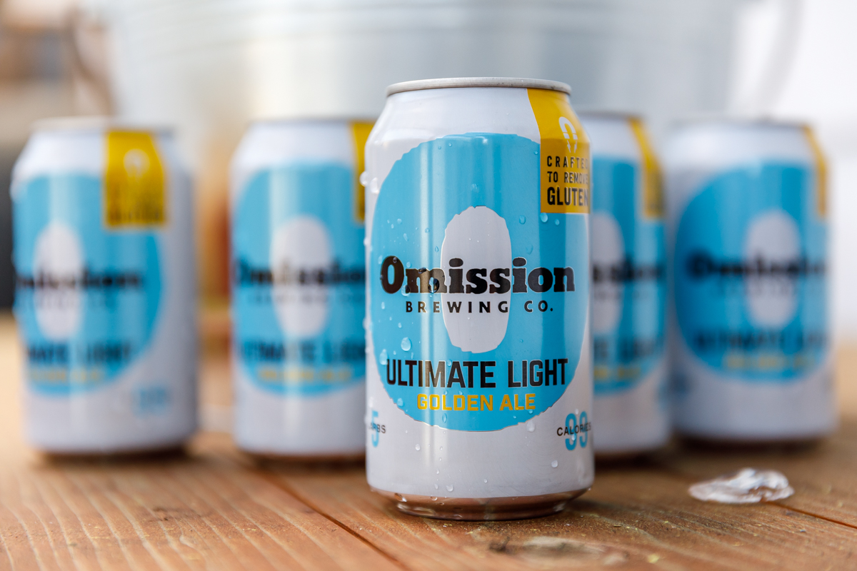 image of Omission Ultimate Light courtesy of Omission Brewing Co.