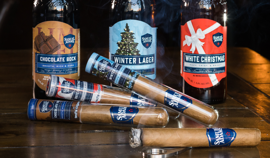 Sam Adams White Christmas.2017 Craft Beer Holiday Gift Guide
