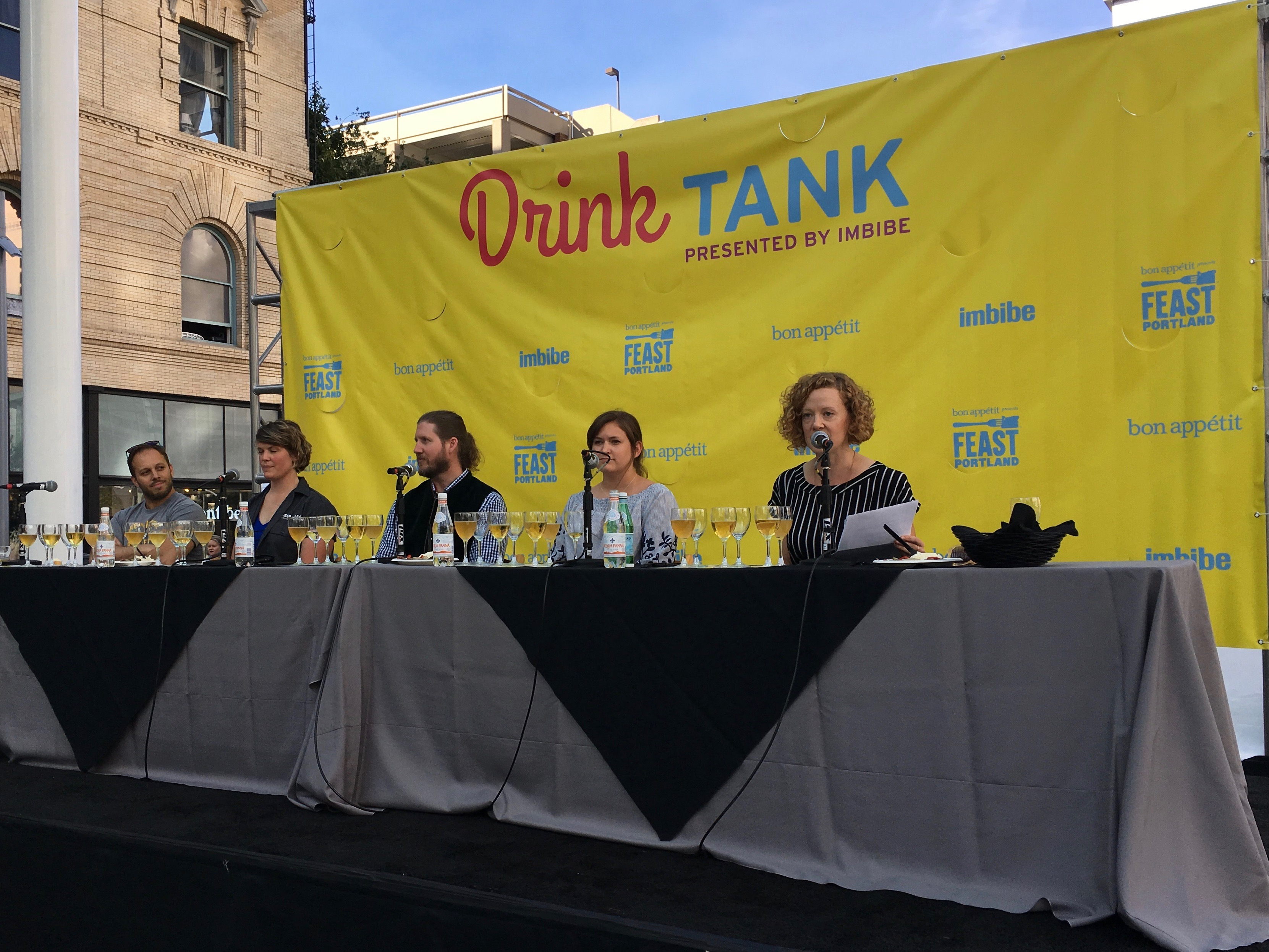 Drink Tank is always a fun, educational portion of Feast. This one on pilsners featured Ben Edmunds, Lisa Allen, Alan Taylor, and Sarah Jane Curran and was moderated by Lucy Burningham