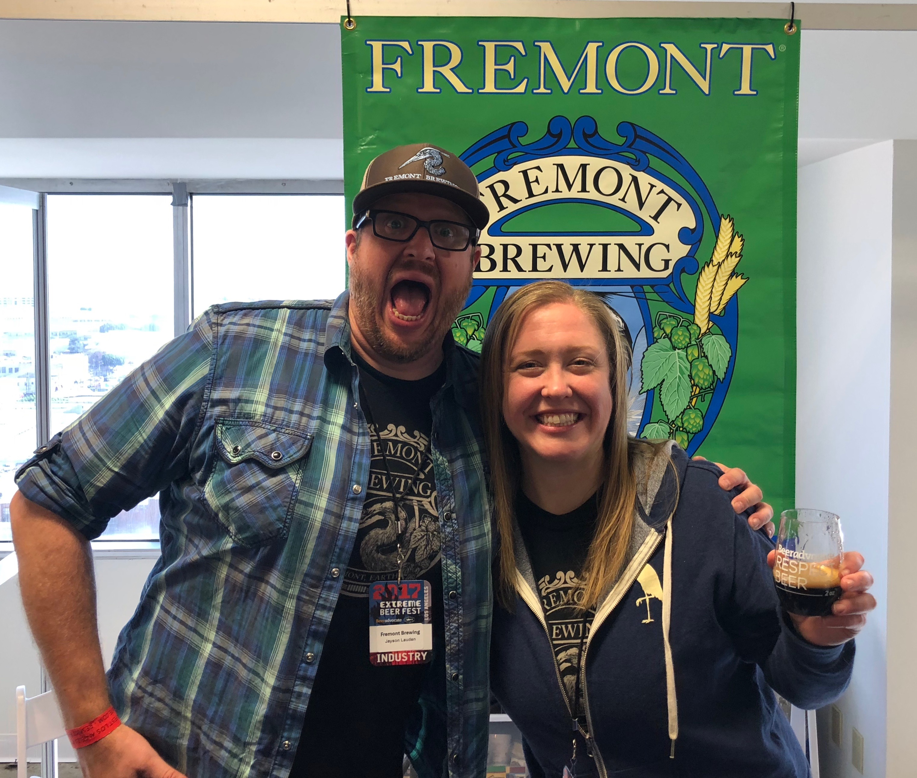 Fremont Brewing made the trek to LA for BeerAdvocate Extreme Beer Fest in Los Angeles.