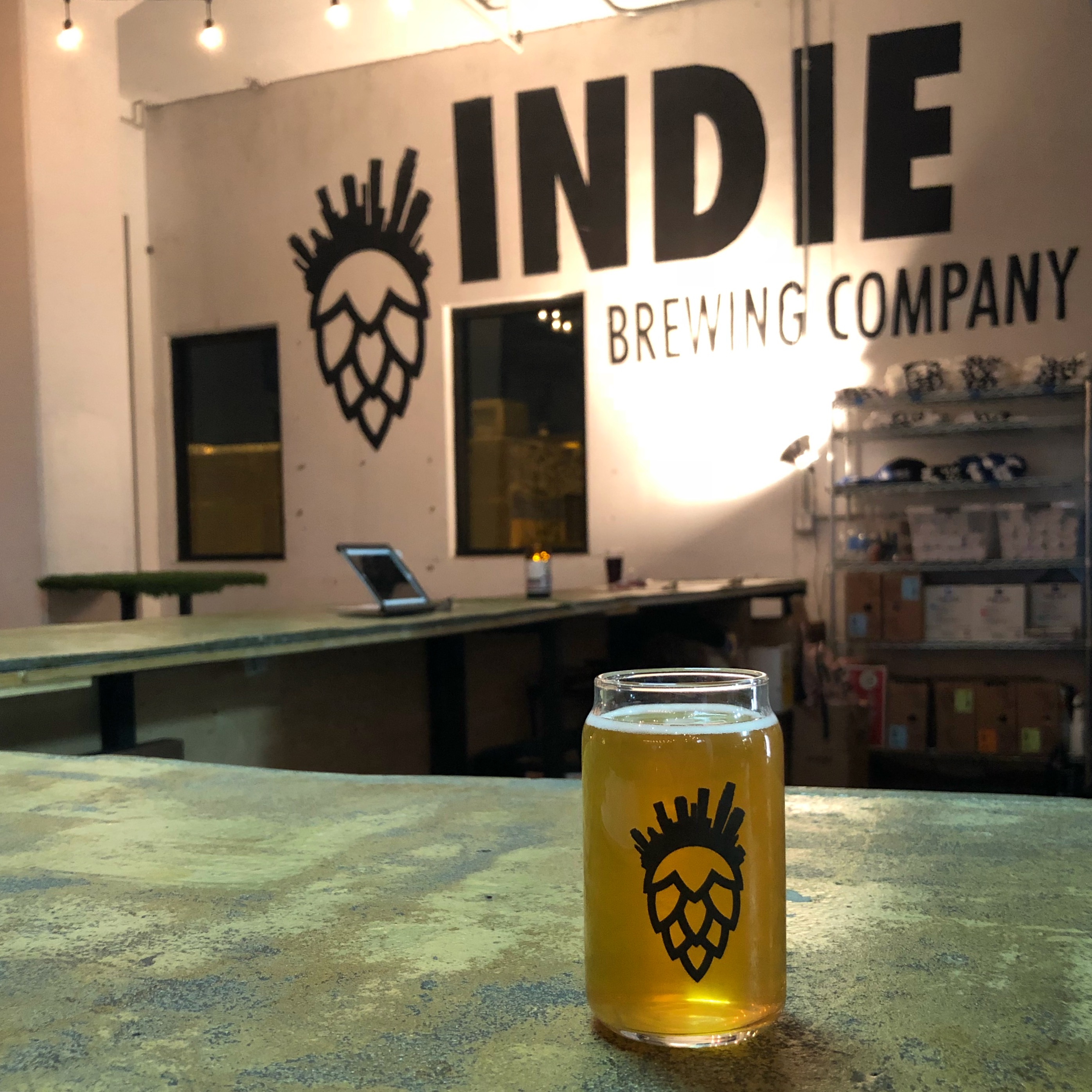 Indie Brewing in downtown Los Angeles.