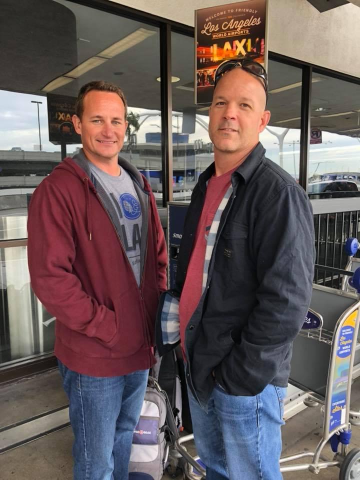 Michael Flinn & Jonathan Billings, winners of BEERLAND Season Two. (image courtesy of Red Buoy Brewers)