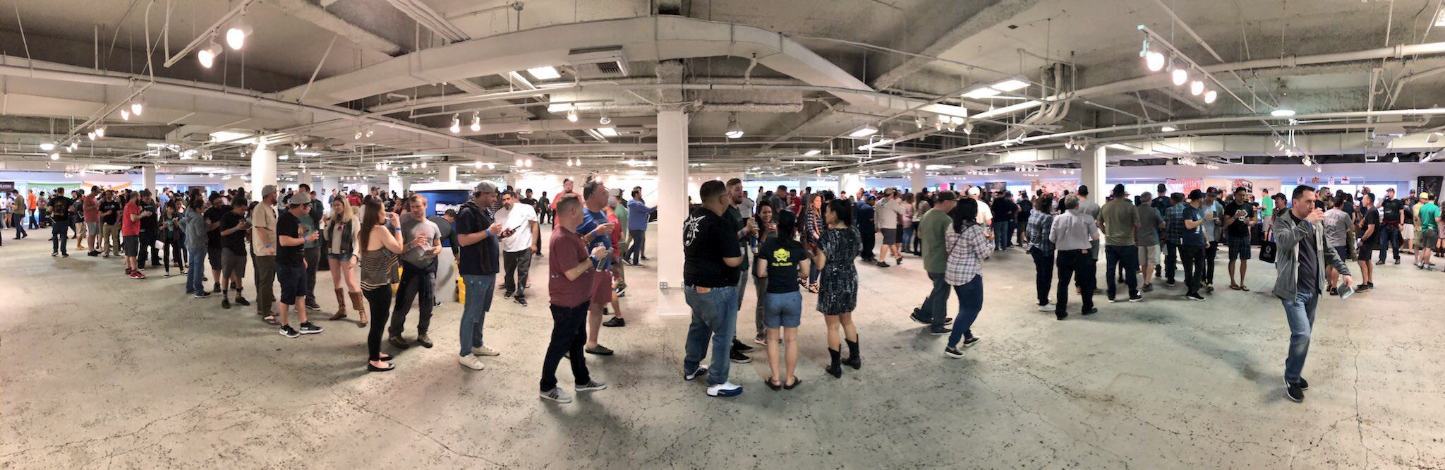 The line for Great Notion at BeerAdvocate Extreme Beer Fest in Los Angeles was one of the longest.