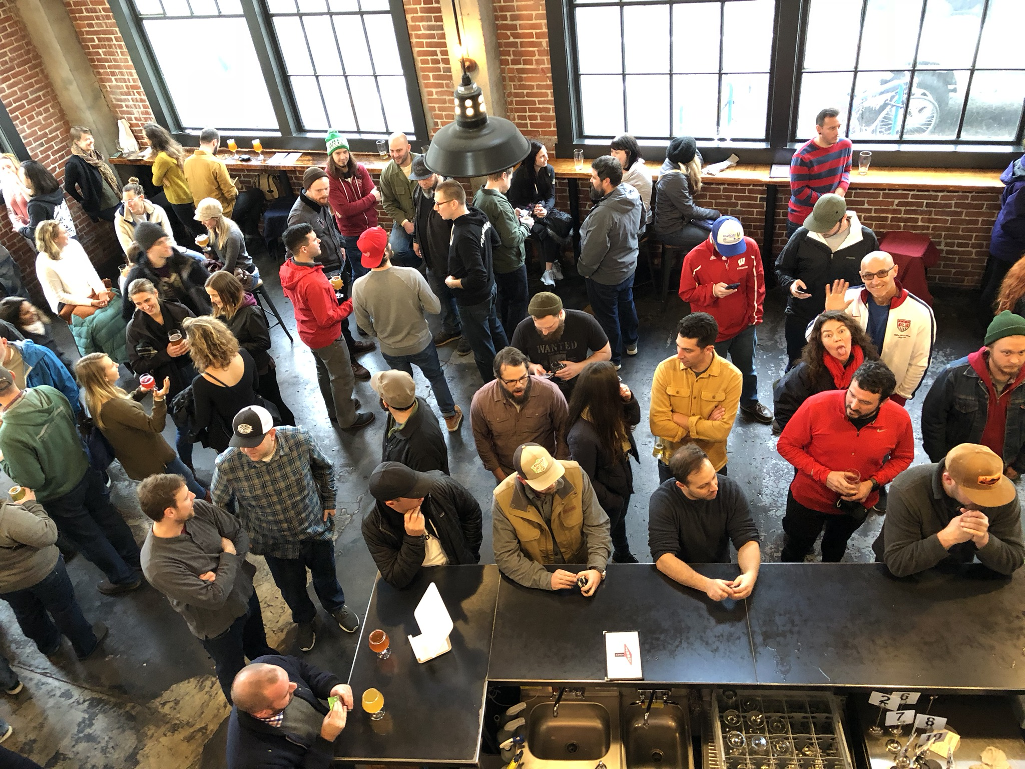 The turnout was strong on the last day of The Commons Brewery. (photo by Cat Stelzer)