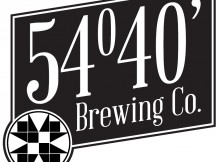54°40' Brewing Co. logo