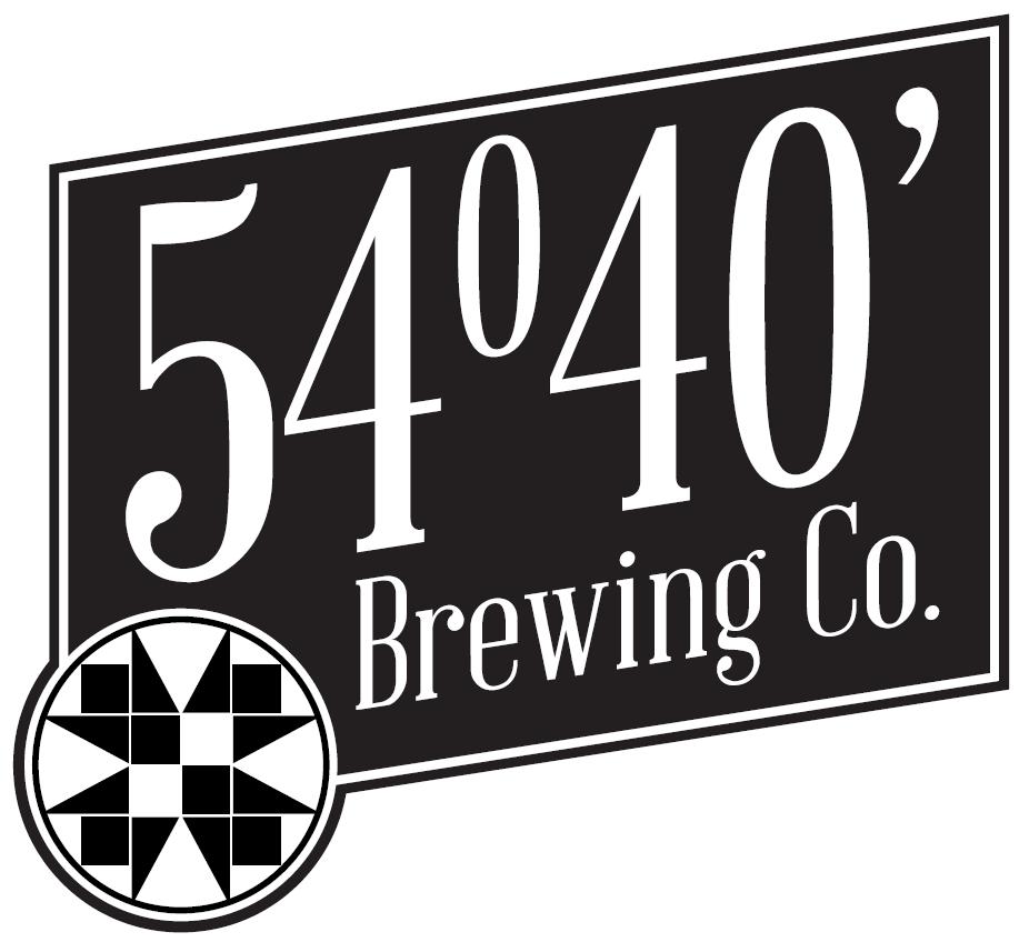 54°40' Brewing Co. logo