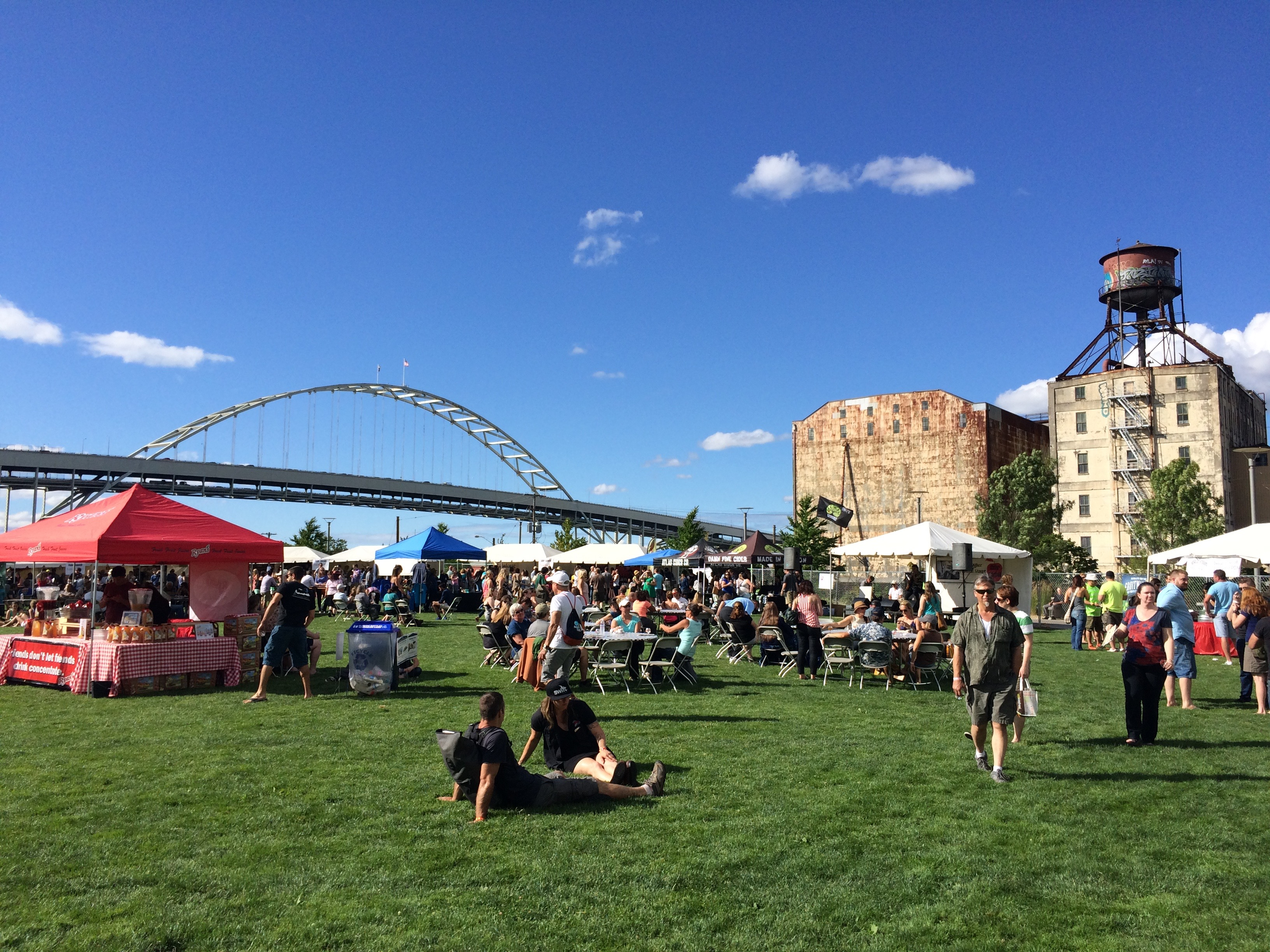 Cider Summit PDX at The Fields Neighborhood Park. (photo by BREWPUBLIC)