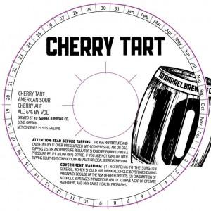 10 Barrel Cherry Tart