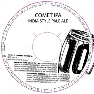 10 Barrel Comet IPA