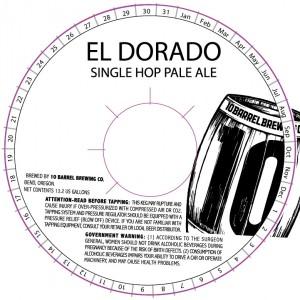 10 Barrel El Dorado Single Hop Pale Ale