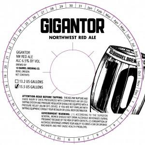 10 Barrel Gigantor Northwest IPA
