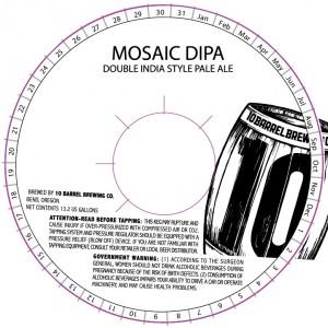 10 Barrel Mosaic DIPA