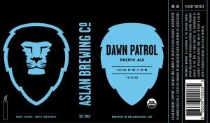 Aslan Brewing Co. Dawn Patrol Pacific Ale