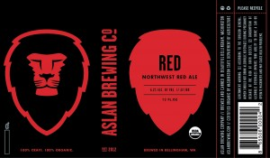 Aslan Brewing Co. Red- Northwest Red Ale