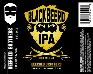 Beerded Brothers Black Beerd IPA