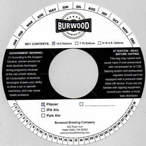 Burwood Brewing Co. Pilsner