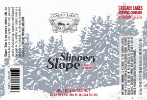 Cascade Lakes Brewing Slippery Slope - a tasty winter ale