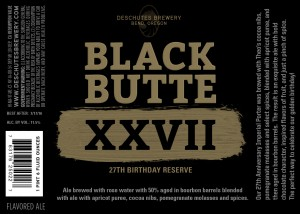 Deschutes Brewing Black Butte XXVII