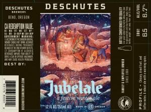 Deschutes Brewing Jubelale - a festive winter ale
