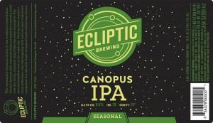 Ecliptic Canopus Seasonal IPA