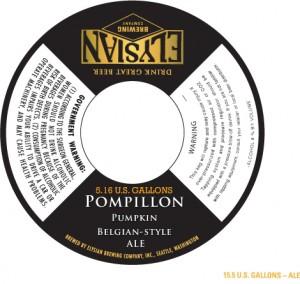 Elysian Brewing Co. Popillon Pumpkin Belgian-Style Belgian Ale