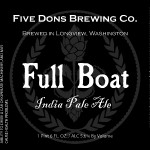 Five Dons Brewing Full Boat IPA