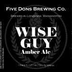 Five Dons Brewing Wise Guy Amber