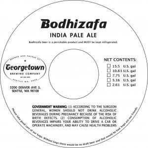 Georgetown Bodhizafa IPA
