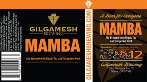 Gilgamesh Mamba Ale with Black Tea and Tangerine Peel