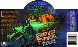 Heathen Brewing Sinderalea Pumpkin Ale with Spices