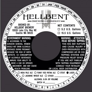 HellBent Brewing Co. Lager