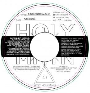 Holy Mountain Holy Pyrokinesis DIPA