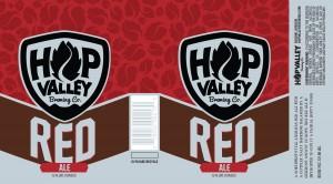 Hop Valley Brewing Red Ale