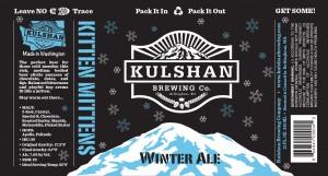 Kulshan Brewing Kitten Mittens Winter Ale