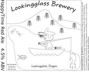 Looking Glass HappyTime Red Ale