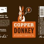 No-Li Copper Donkey 22oz Bottle Label - Print File - 7.29.2015