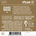 Pfriem Brewing Gose (back)