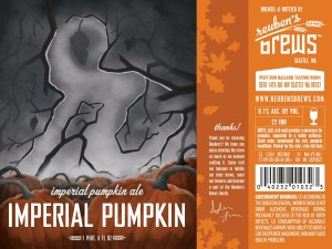 Reuben's Brews Imperial Pumpkin Ale