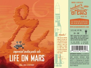 Reuben's Brews Life on Mars Imperial India Pale Ale