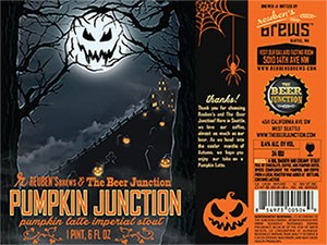 Reuben's Brews & The Beer Junction Pumpkin Junction Pumpkin Latte Imperial Stout