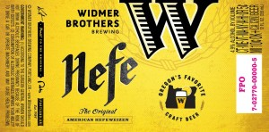Widmer Hefe (new label)