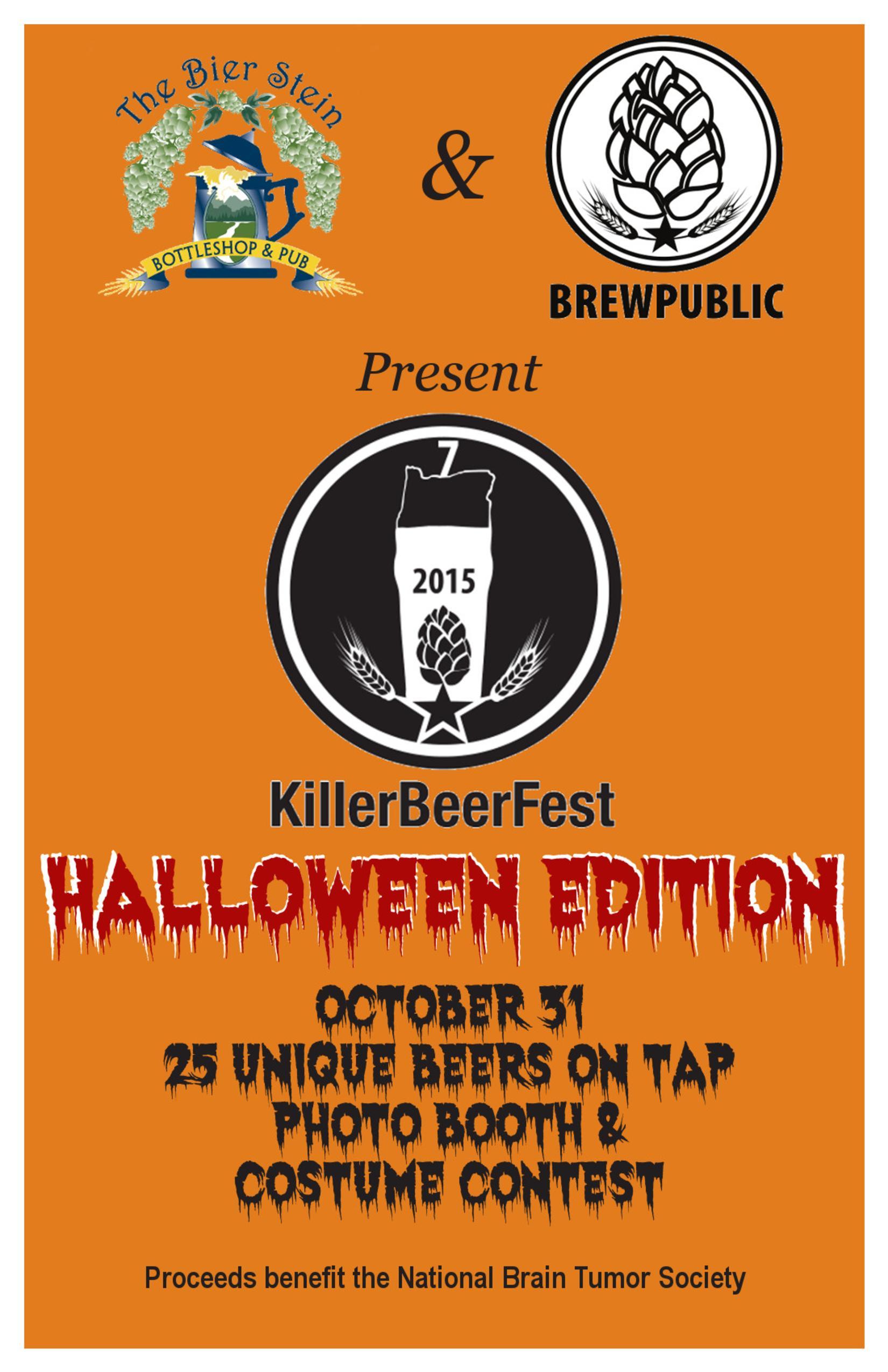 Halloween Bier.Brewpublic Killerbeerfest Halloween Eugene Edition