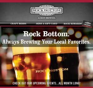 Rock Bottom Portland Special Events for December 2015