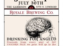 Drink Royale Fat Unicorn Ale all day Saturday at The Garrison in St Johns to benefit the National Brain Tumor Society
