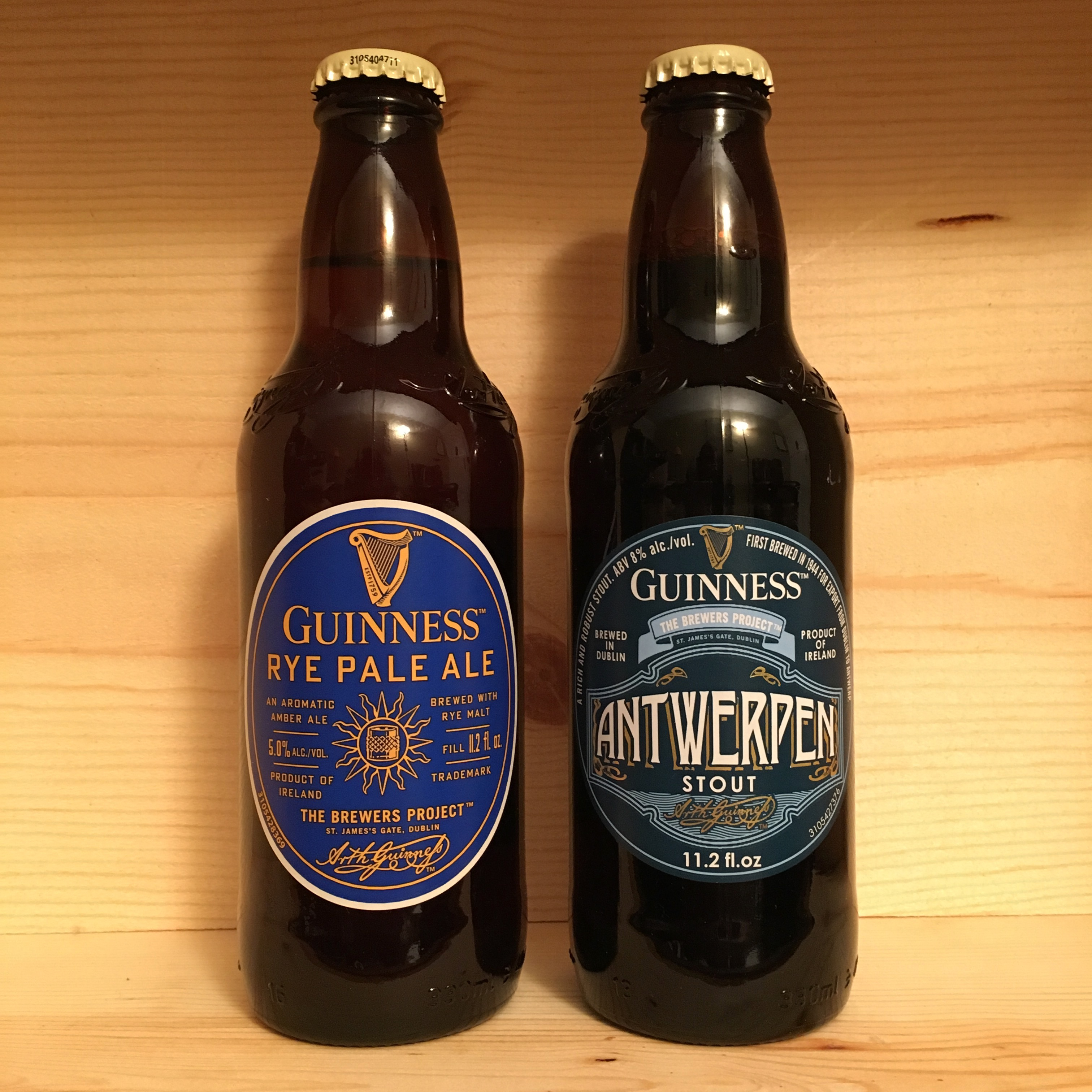 Guinness debuts guinness rye pale ale and guinness antwerpen stout - Guinness beer images ...