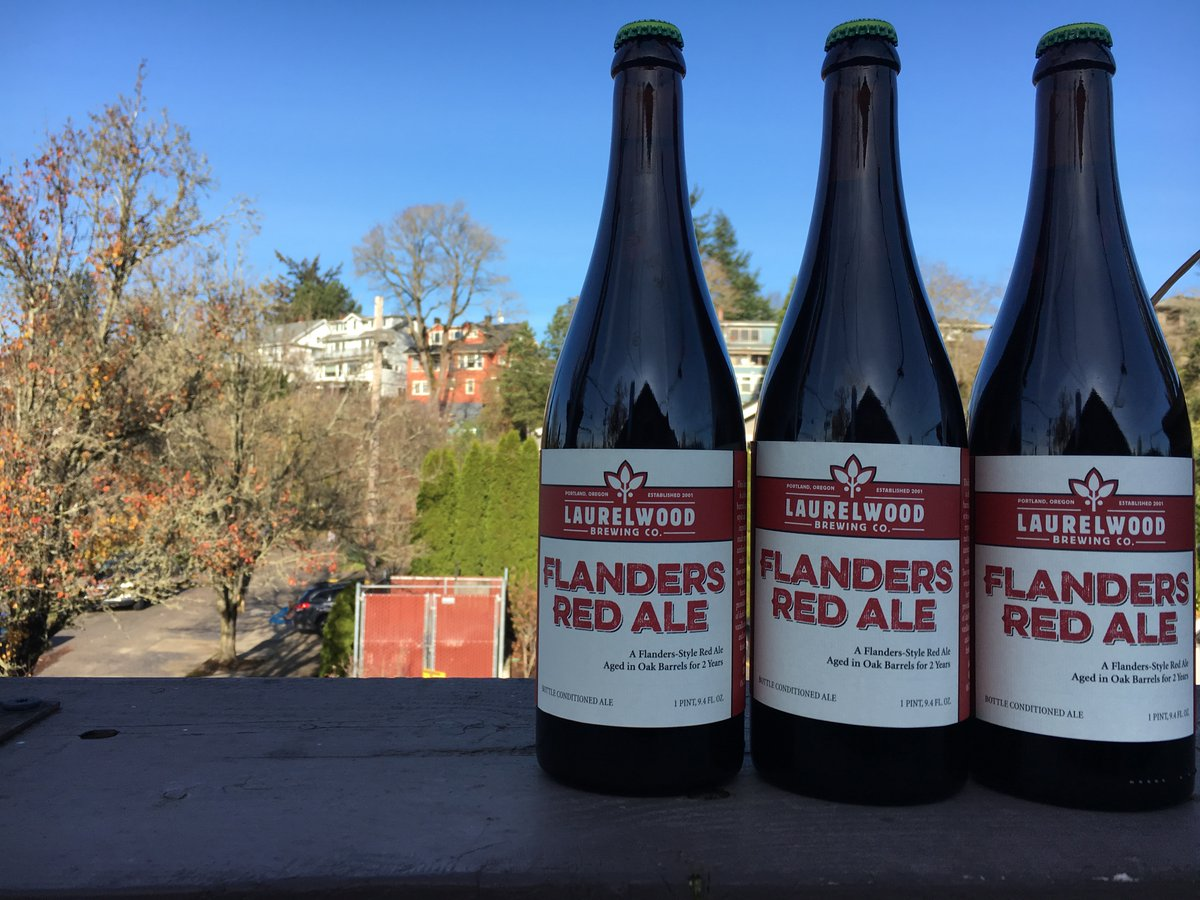 Laurelwood brewing releases flanders red ale and 2017 for Laurelwood