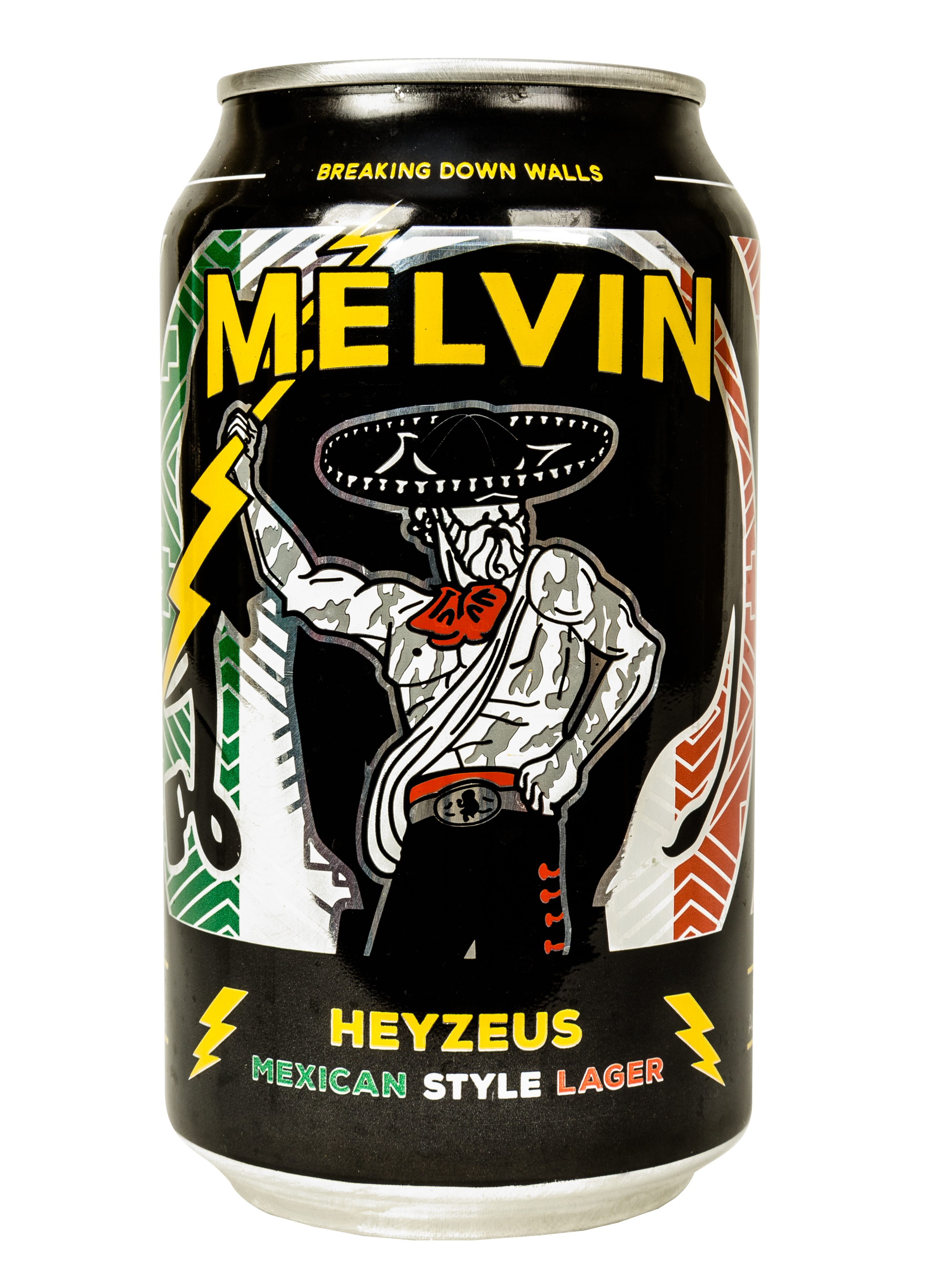 Melvin Brewing Cans Heyzeus Mexican Style Lager Release