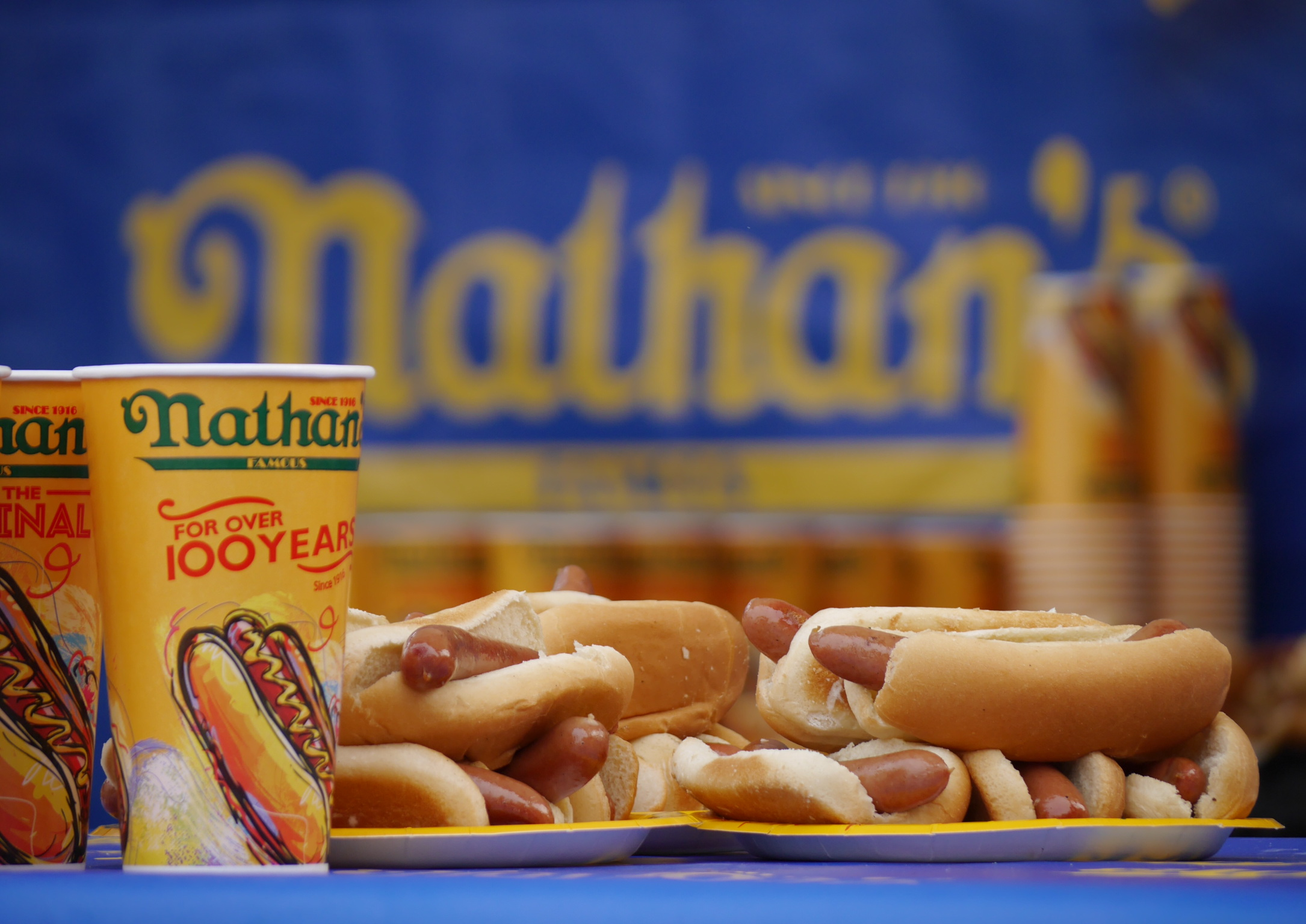 Nathan Hot Dog Contest Winners